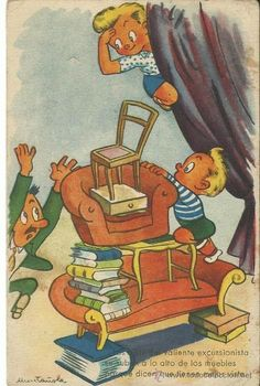 POSTAL EDICIONES COLON / BENISI.-SERIE 115 / 8.-ILUSTRADOR MUNTAÑOLA (Postales - Dibujos y Caricaturas)
