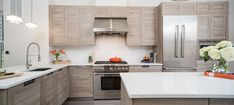 LUX Classic kitchen in Medium Oak Matrix. Photographed by Sean Shanahan.