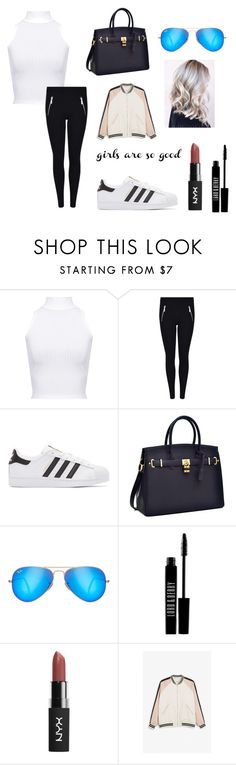 """""""Women's outfit"""" by revivalxgirls on Polyvore featuring moda, WearAll, MICHAEL Michael Kors, adidas Originals, Ray-Ban, Lord & Berry, Monki y WomensLook"""