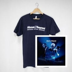Above & Beyond Acoustic II Merchandise | Acoustic Navy Tour T-Shirt & Acoustic II CD  #t-shirt #tour #2016 #CD #album #bundle #aboveandbeyond #ABAcoustic #AcousticII #merchandise #musiclabel #recordlabel #Anjunabeats #Anjuna