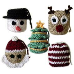 crochet christmas gift bags..tutorial to follow