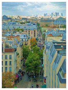 Onward towards La Defense - Paris, France