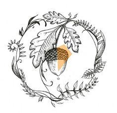 Acorn design                                                                                                                                                     More