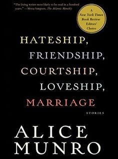 The 2013 Nobel Prize Winner for Literature: Alice Munro