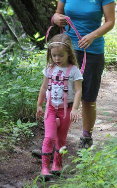 Down the trail we go. @KiddoGear.com @HarnessKids #childharness