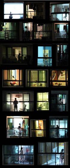 WINDOWS 3, CHRISTOPHE DEMAÎTRE.  C-PRINT (LIGHTBOX)