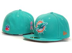 77c79eb18c8 Cheap Wholesale New Era 59Fifty Miami Dolphins 007 Blue Fitted Hats for  slae at US 8.90