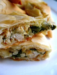 Chicken Spanakopita #greek