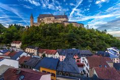Vianden Castle in Luxembourg. Hey I've been there!