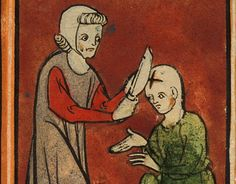 Surgery in the 14th century :http://www.medievalists.net/2014/10/19/surgery-14th-century/