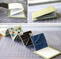 accordion book...for timelines?