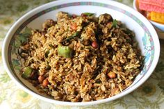 Vangi Bhaat / Spiced up Brinjal Rice A speciality dish from andhra straight to your kitchen..