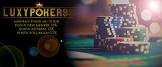 Bergabunglah di agen poker terbaik deposit 10rb yaitu luxypoker99 memberikan kemudahan bagi anda yang ingin bermain judi di agen poker terbaik murah.