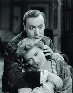Ingrid Bergman and Charles Boyer in Gaslight