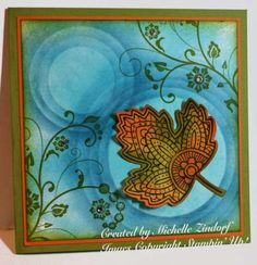 Lighthearted Leaf - Stampin' Up! Card created by Michelle Zindorf