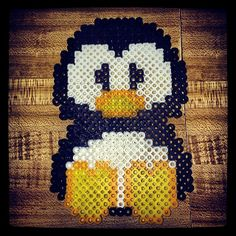 Penguin perler beads by 4theloveofsound