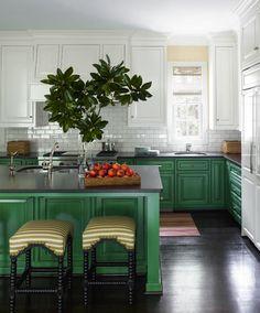 πράσινα ντουλάπια