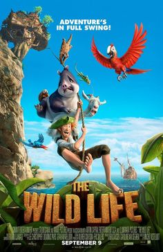 Robinson Hi-Res Movie Poster The Wild Life