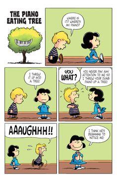 KaBOOM Peanuts Vol. 2 #21 - The Piano Eating Tree 1