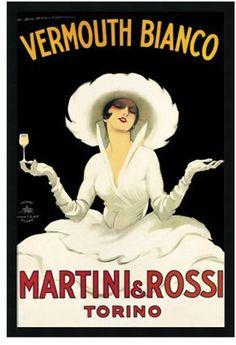 Martini & Rossi ad, circa 1920's