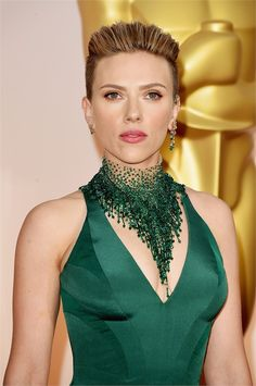 Scarlett Johansson - Oscars 2015 Beauty Awards