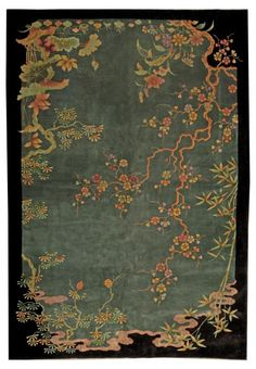 A Chinese Deco Rug BB4927