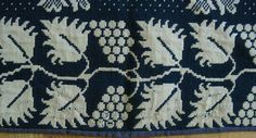 RARE and Early Antique Long Island New York Jacquard Coverlet Dated 1832   eBay