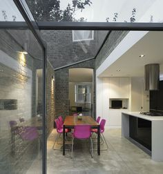 Mapledene Road by Platform 5 Architects: another view. This space must sound quite dramatic in the rain.