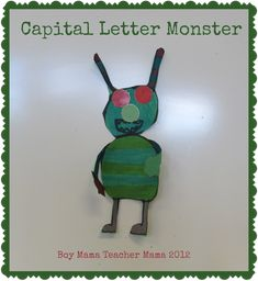 capital letter monsters feature
