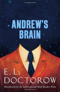 "Andrew's Brain-E. L. Doctorow. What an interesting mind trip...It's difficult to give a review  share my thoughts without revealing too much of the story. Andrew is speaking to an ""unknown interlocutor"", presumably a psychiatrist, but by the time you're done, you'll wonder if he was actually talking to anybody else, at all...A quick read, but the ending may feel unsatisfying. Let it marinate. I found it helpful to look up commentary. I even found an interview with the author...(Book 7, 2014)"