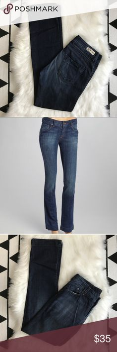 "Dylan George Straight Leg Jezebel Jeans Dylan George Jezebel Straight Leg Jeans. Excellent preowned condition, no flaws. Waist 16"". rise 9"". Inseam 34.5"". All measurements are taken laid flat and approximate. 98% cotton, 2% Lycra. Has stretch. Dylan George Jeans Straight Leg"