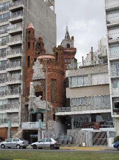 Castillo Pittamiglio, Montevideo. Uruguay