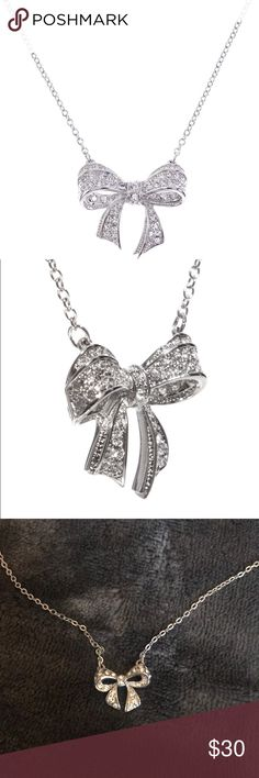 Ted baker Bow Necklace Brand new, with tags. Never worn. Beautiful necklace. Perfect for holidays. Made with Swarovski Elements. Reasonable offers welcome. Bundle to save! Ted Baker Jewelry Necklaces