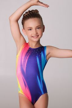 Rainbow Ice Cream Leotard  #sylviap #sylviapgymnastics #gymnastics #activewear #trainingwear #sportswear #athleticswear #love #inspo #train #friends #models #girls #sportswear #training #gymnast #leotard #leo #gym #design #pattern #unique #girl #buy #purchase #dance #dancewear #leggings #tights #yogapants