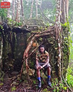 New Photo of Footballer Emmanuel Adebayor Camo life in Beautiful Kpalime, Togo. What have you noticed about the picture?