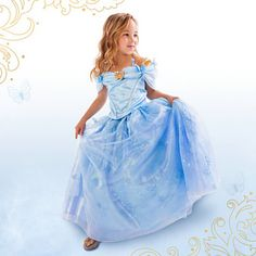 New Baby Girls Cinderella Dress Limited Edition Costume Children Girl Princess Cosplay Dresses Kids Party Gift Fancy Clothes #Affiliate