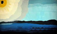 Arthur Dove, Sun on Lake (Boston MFA)