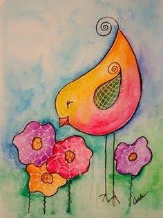 Supermarket: Lips (original illustration art print) from Garillu Art Fantaisiste, Whimsical Art, Art Plastique, Bird Art, Medium Art, Doodle Art, Painting Inspiration, Art Lessons, Painting & Drawing