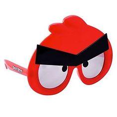Angry Birds Red Sunglasses - 380590 | trendyhalloween.com