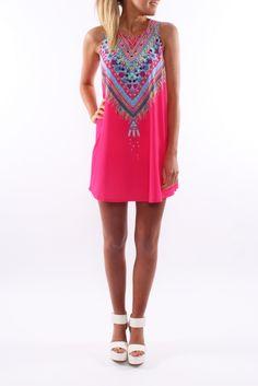 Lakota Dress Pink