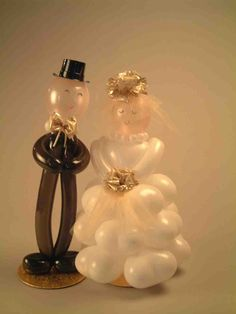 I learn't this at a balloon convention in Tasmania and I sold many of these for bridal parties