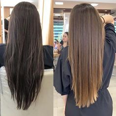 Are you going to balayage hair for the first time and know nothing about this technique? We've gathered everything you need to know about balayage, check! Brown Hair Balayage, Blonde Hair With Highlights, Brown Blonde Hair, Light Brown Hair, Brunette Hair, Dark Brown, Dark Hair, Balayage Straight Hair, Light Blonde