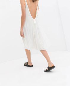 Image 3 of BRAIDED BACK DRESS from Zara