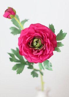 Silk Ranunculus | Artificial Ranunculus | Silk Flowers at Afloral.com Fake Flowers, Artificial Flowers, Silk Flowers, Wedding Bouquets, Wedding Flowers, Flower Spray, Diy Bouquet, Ranunculus, Floral Arrangements