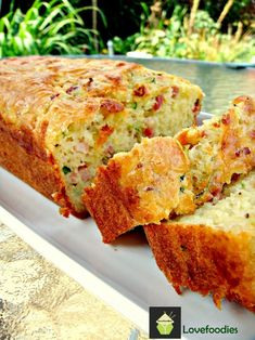 Bacon & Cheddar Zucchini Bread With these ingredients, who wouldn't love this?