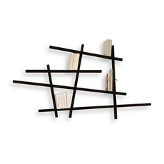 Jean-François Bellemère is the designer who created this exceptional shelf, ideal for your pocket books. Like a sculpture on the wall, Mikado highlights the books and can be mounted in a few minutes.
