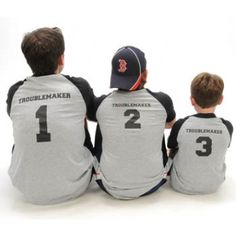 08896694 TroubleMaker #1 Dad and Son T-shirts | Matching Father Son T Shirts Father