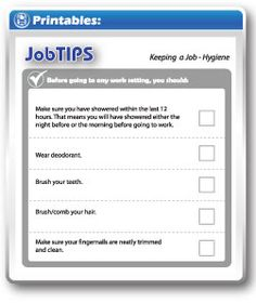 job tips for finding and applying for a job