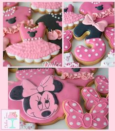 Minnie's cookies Galletas Minnie