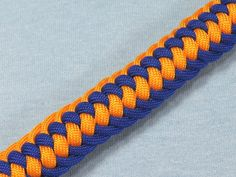 How to make a Genoese Zipper Sinnet Paracord Bracelet Tutorial (Paracord...